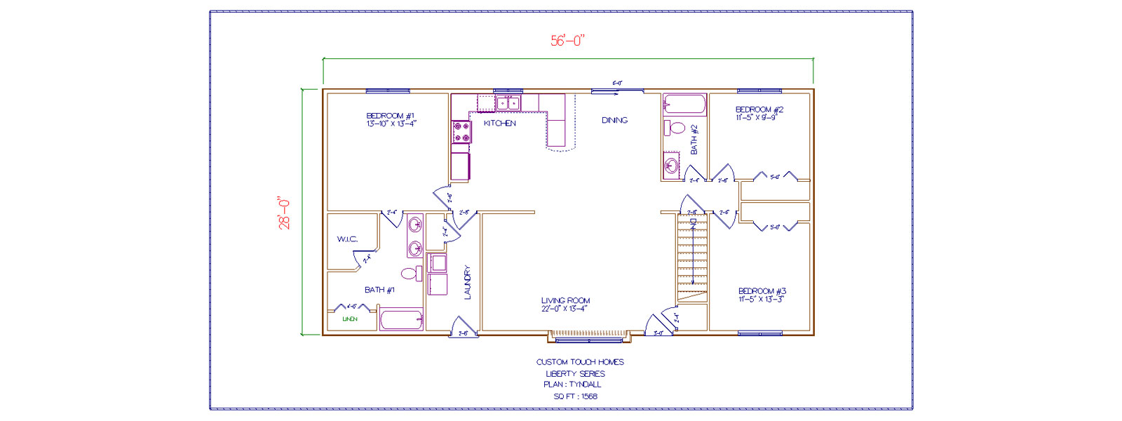 Tyndall Custom Touch Homes